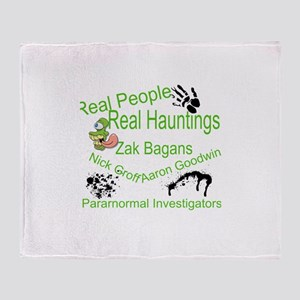 Paranormal Humor Throw Blanket