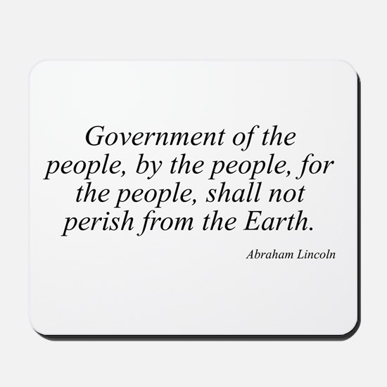 Abraham Lincoln quote 27 Mousepad