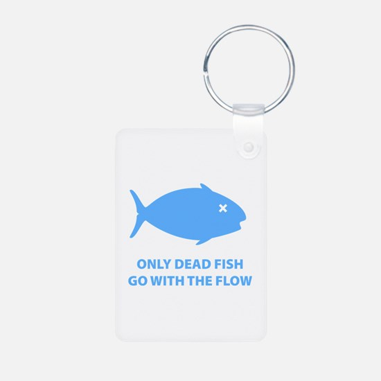Go With The Flow Keychains