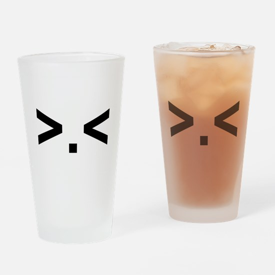 >.< Drinking Glass