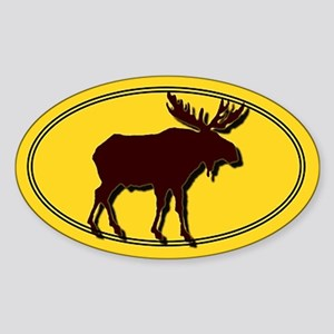 Moose Silhouette Sticker