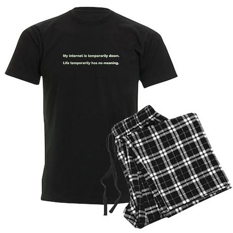 My internet is down Men's Dark Pajamas