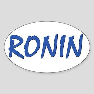 ronin Oval Sticker