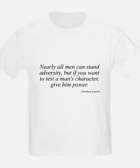 Abraham Lincoln quote 74 Kids T-Shirt