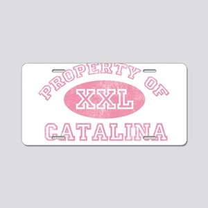 Property of Catalina Aluminum License Plate