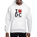I hate DC Hooded Sweatshirt