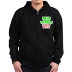 SAVE THE TREES!! Zip Hoodie (dark)