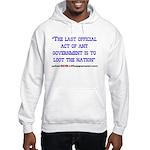 Last Official Act Hooded Sweatshirt