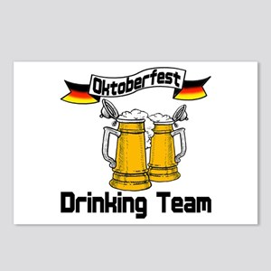 Oktoberfest Drinking Team Postcards (Package of 8)