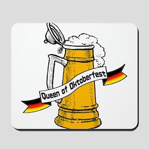 Queen of Oktoberfest Mousepad