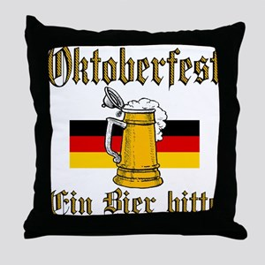A Beer Please Throw Pillow