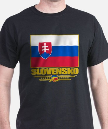 Slovak Republic Flag T-Shirt