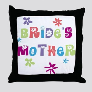Happy Mother of the Bride Throw Pillow
