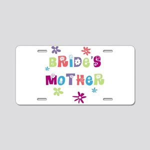 Happy Mother of the Bride Aluminum License Plate