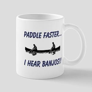 I Hear Banjos Mug