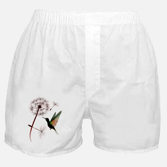 Dandelion and Little Green Hu Boxer Shorts