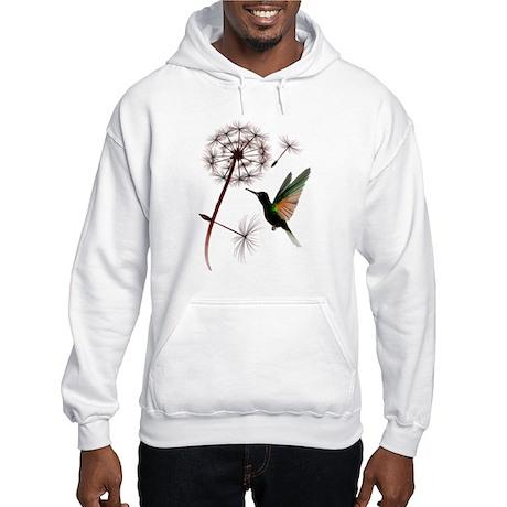 Dandelion and Little Green Hu Hooded Sweatshirt