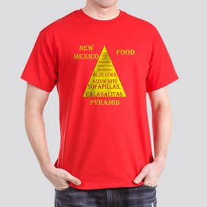 New Mexico Food Pyramid Dark T-Shirt