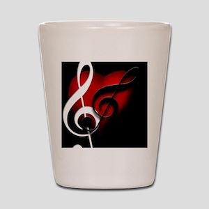 Musical Drinkware Shot Glass