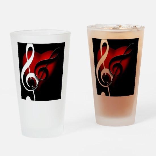 Musical Drinkware Drinking Glass