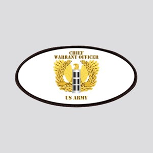 Army - Emblem - Warrant Officer CW3 Patches