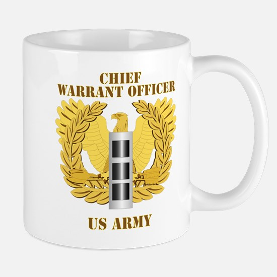 Army - Emblem - Warrant Officer CW3 Mug