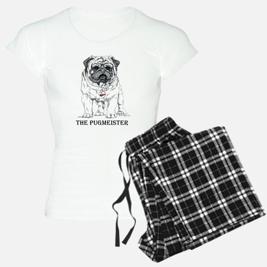 The Pugmeister Pug Pajamas