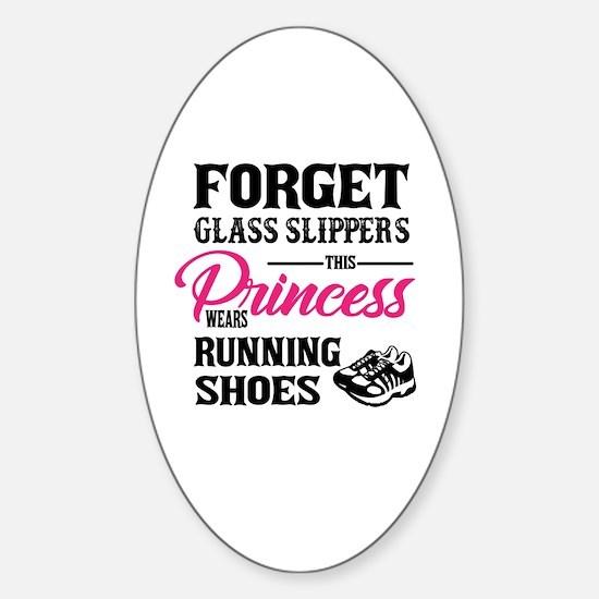 Funny Princess Sticker (Oval)