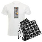 elevator buttons Men's Light Pajamas