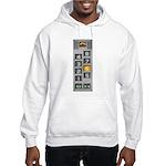 elevator buttons Hooded Sweatshirt