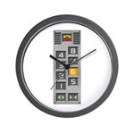elevator buttons Wall Clock