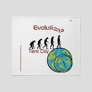 HIA Evolution design Throw Blanket