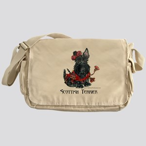 Celtic Scottish Terrier Messenger Bag