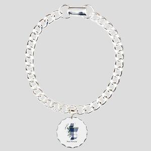 Map-MacKenzie dress Charm Bracelet, One Charm