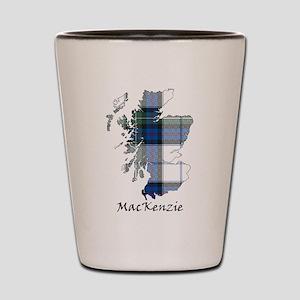 Map-MacKenzie dress Shot Glass