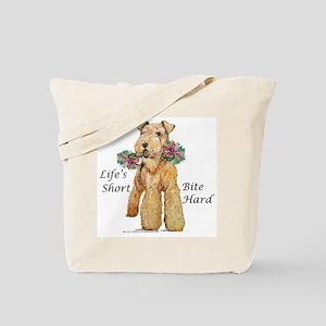 Airedales Rule! Tote Bag