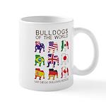 San Diego Bulldog Rescue Mug