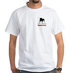 San Diego Bulldog Rescue White T-Shirt