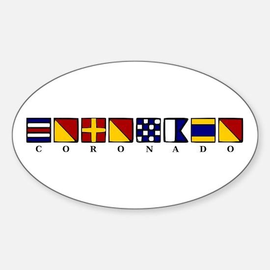 Coronado Sticker (Oval)