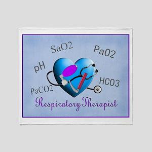 Respiratory Therapy XXX Throw Blanket