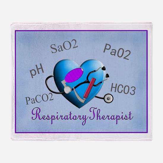 Respiratory Therapy XXX Throw Blanket