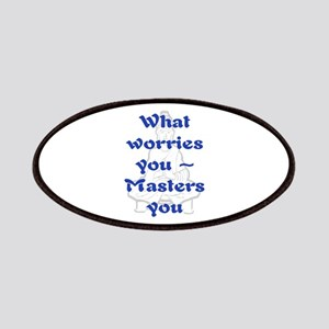 WHAT WORRIES YOU - 2 Patches