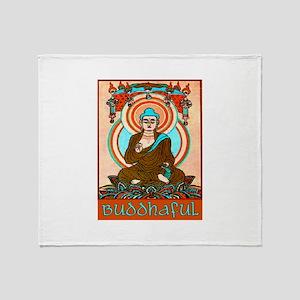 BUDDHAFUL Throw Blanket