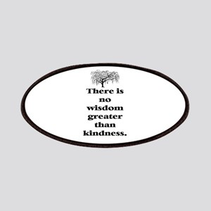 WISDOM GREATER THAN KINDNESS (TREE) Patches