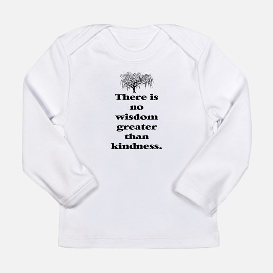 WISDOM GREATER THAN KINDNESS (TREE) Long Sleeve In