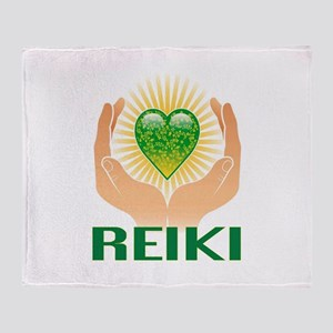 REIKI Throw Blanket