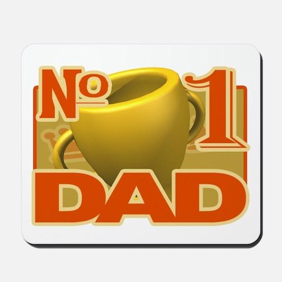 Number 1 Dad - trophy Mousepad
