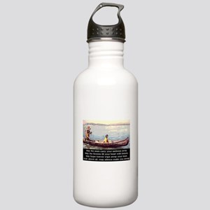 THE WISDOM OF SILENCE Stainless Water Bottle 1.0L