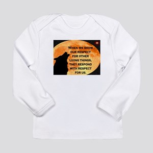 SHOW RESPECT FOR ALL Long Sleeve Infant T-Shirt