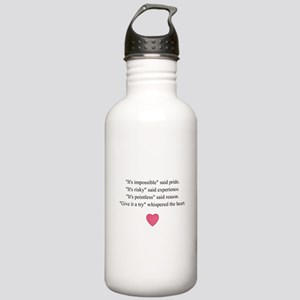 GIVE IT A TRY... Stainless Water Bottle 1.0L